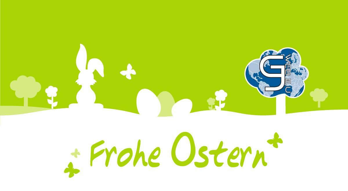 Da hüpft mal flott ein Osterhase, gezielt zu euch hin und wünscht euch ohne Frage wundervolle Ostertage!